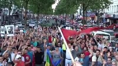 نيشان من بلجيكا:  وقفة تضامنية مع معتقلي حراك الريف في بروكسيل