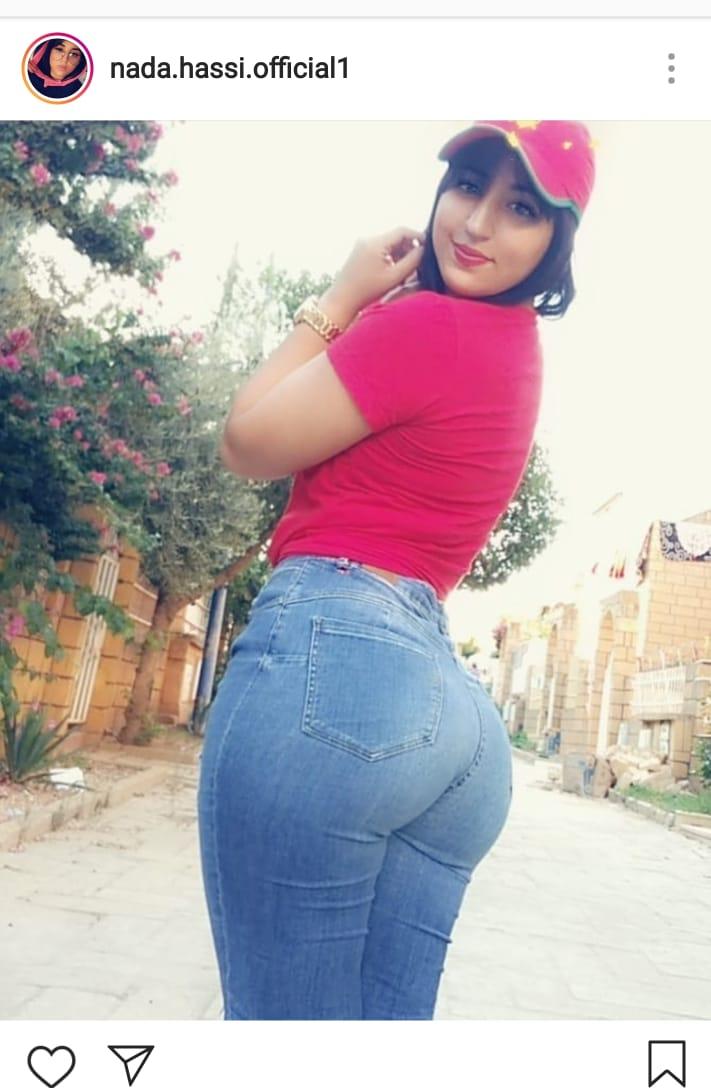 ندى الحاسي مغربية باغة تولي صاحبة أكبر مؤخرة فالمغرب كود